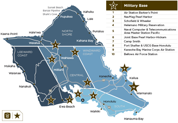 Marine Corps Base Hawaii Map.Hawaii Military Life Got Orders To Hawaii Oahu Pcs Guide Mary